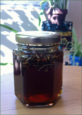 Lavender Lace Infused Honey