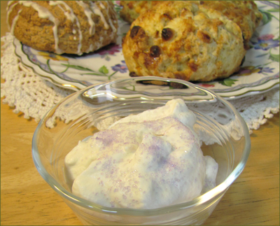 Lavender Lace Whipped Cream