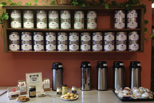 Scones, tea and coffee samples on Saturdays!